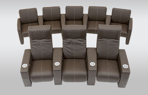 Cineak Ferrier and Ferrier Cine Home Cinema Seating