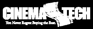 Cinematech Logo White