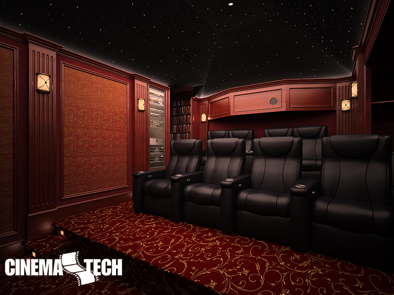 Cinematech Home Cinema Seating