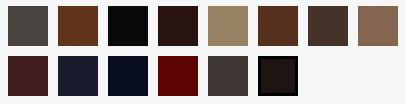 Silk Leather Colours